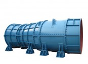 Submersible tubular pump